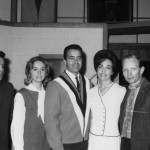Frank Jones, The Hardin Trio, Arlene, Bobby and Robbie Hardin and Pete Drake
