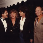 Joe Moscheo, Frances Preston, B.J. Thomas and Pete