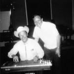 Pete with Roy Rogers