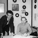 Ralph Davis and Pete Drake 1964 at Window Music publishing office