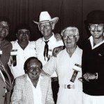 Steel Guitar Hall of Fame. Speedy West, Hal Rugg, Jimmie Crawford, Leon McAuliffe, Shot Jackson, Buddy Emmons and Pete Drake